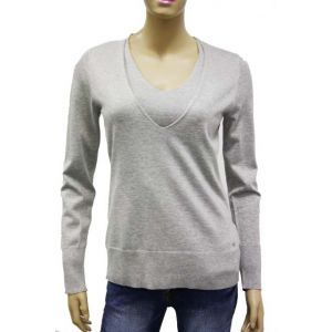 Betty Barclay Damen Strickpullover V-Ausschnitt 0196/0100